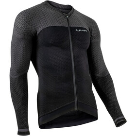 UYN Biking Alpha OW Maglietta a maniche lunghe Uomo, blackboard/charcoal